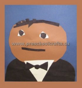 Martin Luther King Crafts for Preschool Kindergarten