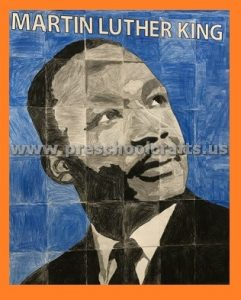 Martin Luther King Day Bulletin Board Idea