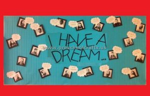 Martin Luther King Day Bulletin Board Ideas for Preschool and Kindergarten