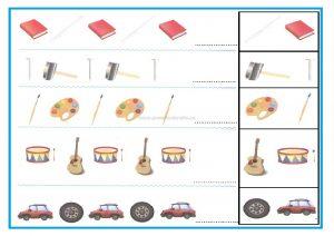 Pattern worksheet for kindergarten