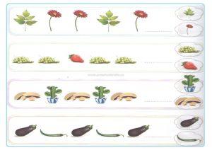 Pattern worksheet for kindergartner