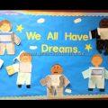 We All Have Dreams Martin Luther King Day Bulletin Board Ideas Preschool Kindergarten