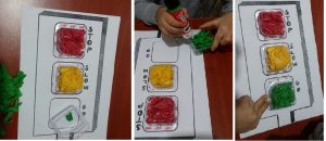 traffic lamp crafts for kids