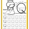 Uppercase letter Q practice worksheet free printable