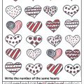 Valentine's Day Theme Math Worksheet