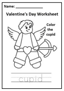 Valentine's Day Theme Worksheet