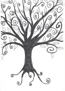 free printable tree template for preschoolers