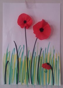 easy fun poppy spring themed crafts for preschoolers