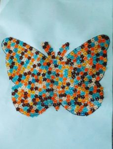 spring butterfly craft idea for preschool