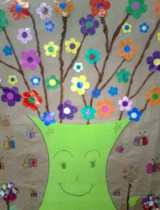 spring themed crafts for kids