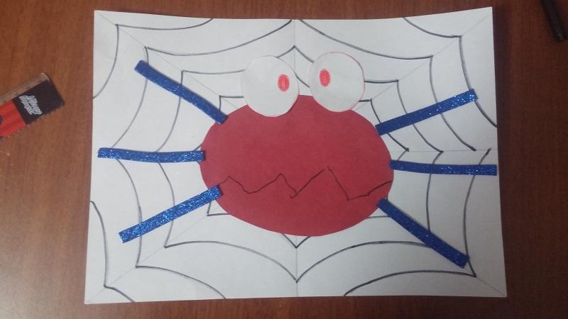 animal spider craft for preschoolers