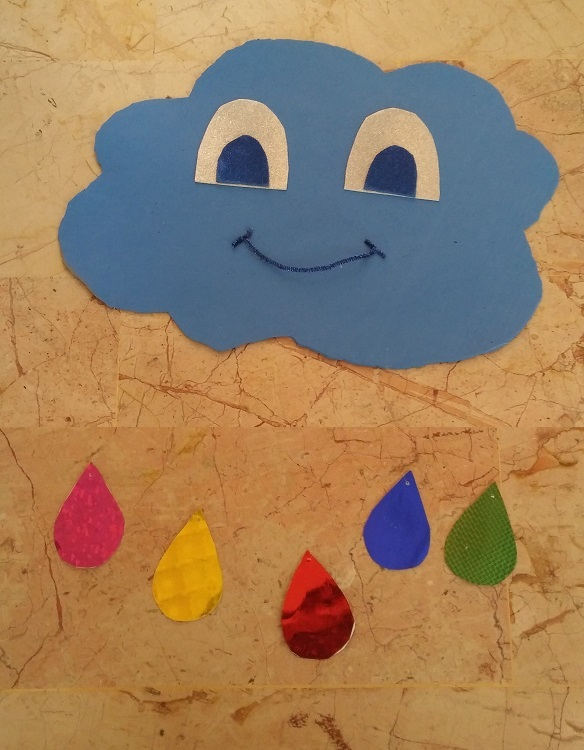 rain craft for preschool