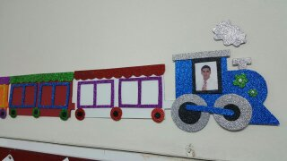 Train craft for preschooler