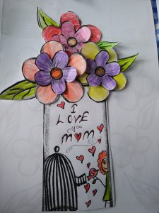 Preschool and Kindergarten Mother's day craft idea